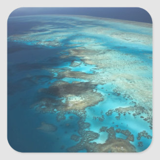 Arlington Reef, Great Barrier Reef Marine Park, Square Sticker