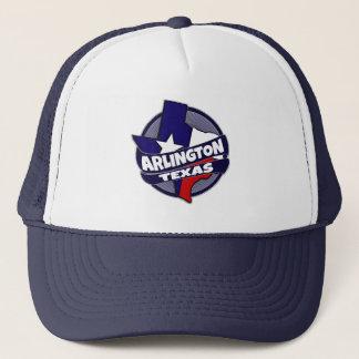 Arlington Texas flag burst trucker hat