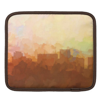 ARLINGTON, TEXAS SKYLINE - In the Clouds Sleeve For iPads