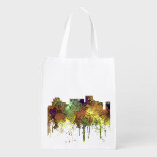 Arlington Texas Skyline SG-Safari Buff Grocery Bag