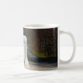 Arlington Tomb of the Unknown Soldier, Yellow Wrea Classic White Coffee Mug