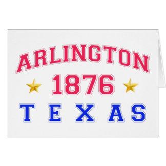 Arlington, TX - 1876 Greeting Card