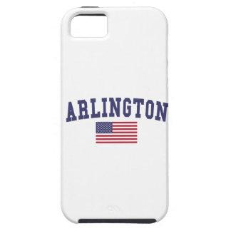 Arlington TX US Flag iPhone SE/5/5s Case