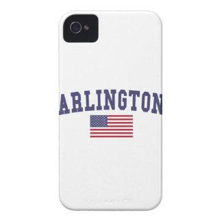 Arlington VA US Flag iPhone 4 Case