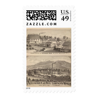 Arlington Vermont Postage