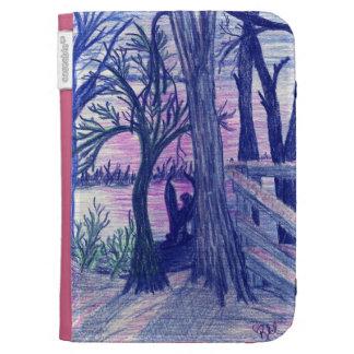 Arllaw creation of night Creature Kindle case