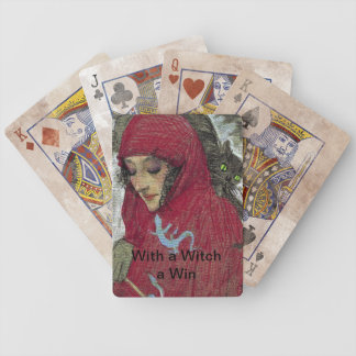 Arllaw, The Writing Witch Bicycle Playing Cards