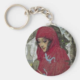 Arllaw, The Writing Witch. Keychain