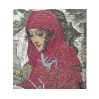 Arllaw, The Writing Witch. Note Pad