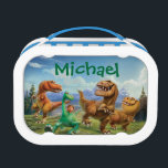 """Arlo, Spot, and Ranchers In Field - Personalized Lunch Box<br><div class=""""desc"""">The Good Dinosaur   Personalize your very own Arlo,  Spot,  and Ranchers In Field products here! Just click the Customize button to begin!</div>"""