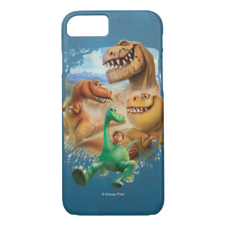 Arlo, Spot, and Ranchers In Forest iPhone 7 Case
