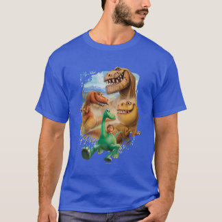 Arlo, Spot, and Ranchers In Forest T-Shirt