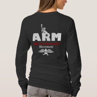 ARM: American Refounders Movement (blk or wht) T-Shirt