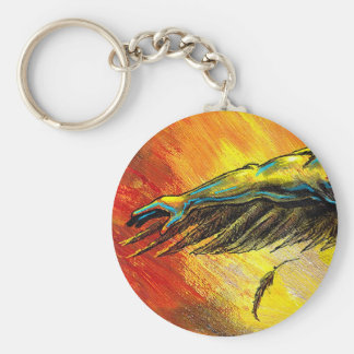 Arm and Wing keychain