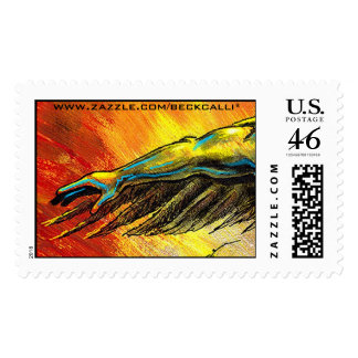 Arm and Wing postage stamp
