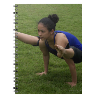 Arm balance notebook