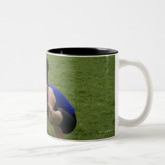 Arm balance Two-Tone coffee mug