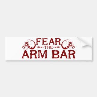 Arm Bar Bumper Stickers