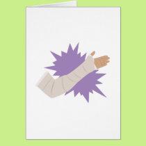 Arm Cast Card