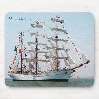 ARM Cuauhtemoc Mexican Navy Tall Ship Mousepad