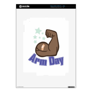 Arm Day Decal For iPad 2