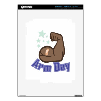Arm Day Skin For iPad 3