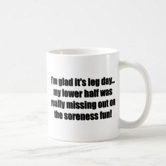 Arm Day - Soreness Fun Coffee Mug