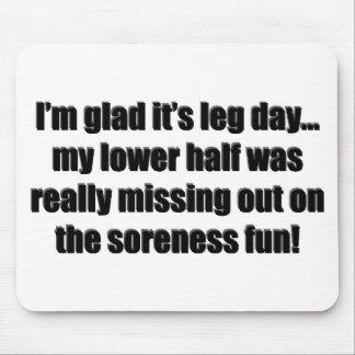 Arm Day - Soreness Fun Mouse Pad