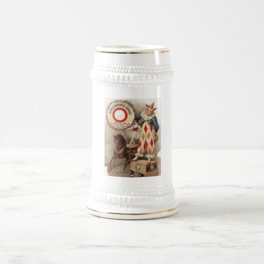 Arm & Hammer Brand Soda Ad Poster 1900 Beer Stein