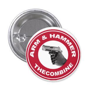 Arm & Hammer 1 Inch Round Button