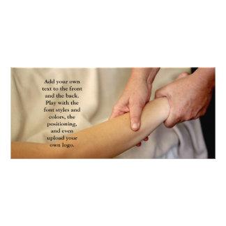 Arm Massage Photo Rack Card