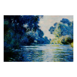 Arm of the Seine near Giverny,1897 Poster