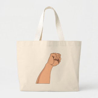 Arm Raised Clenched Fist Pump Bag