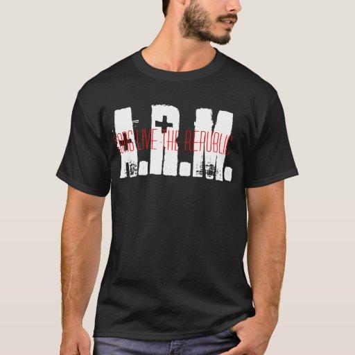 "ARM ""Republic"" T [BLACK] T-Shirt"