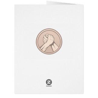 Arm wrestling Bronze Card