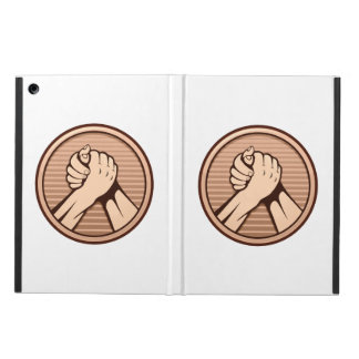 Arm wrestling Bronze Cover For iPad Air