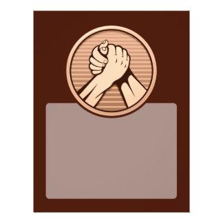 Arm wrestling Bronze Flyer