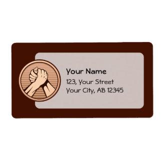 Arm wrestling Bronze Label
