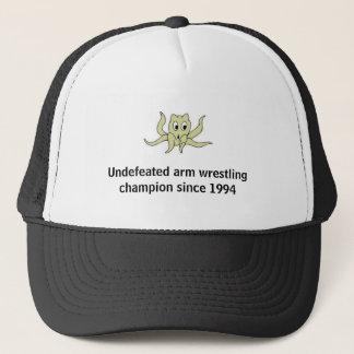 arm wrestling champ trucker hat