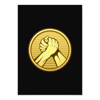 Arm wrestling Gold Card