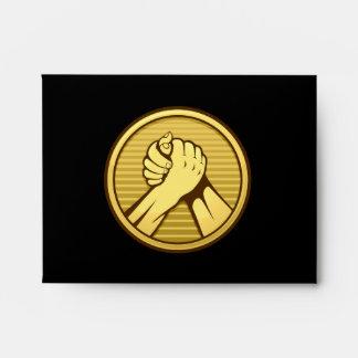 Arm wrestling Gold Envelope