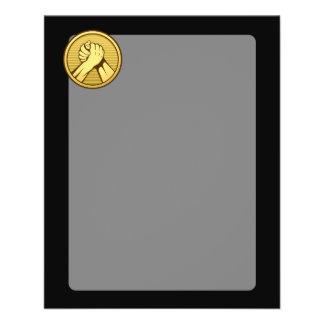 Arm wrestling Gold Flyer