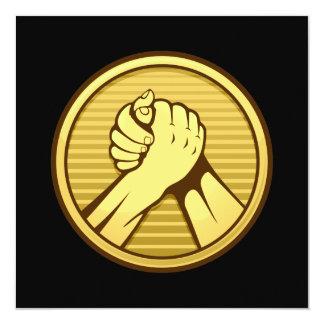 Arm wrestling Gold Invitation