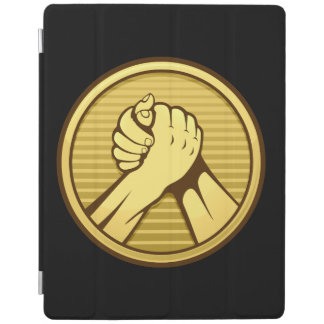 Arm wrestling Gold iPad Smart Cover