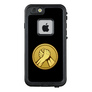 Arm wrestling Gold LifeProof FRĒ iPhone 6/6s Case