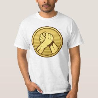 Arm wrestling Gold Tshirt
