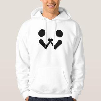 Arm wrestling hooded sweatshirt