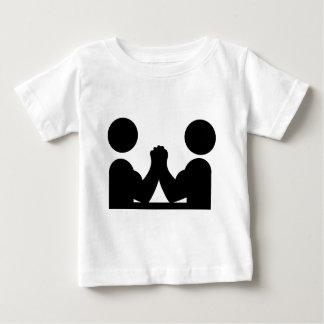 arm wrestling icon baby T-Shirt