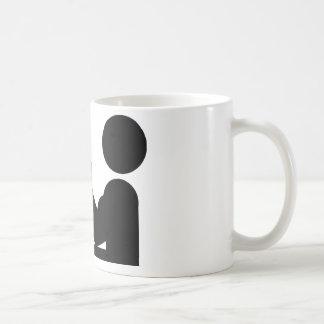 arm wrestling icon coffee mug