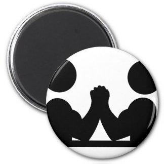 arm wrestling icon magnet